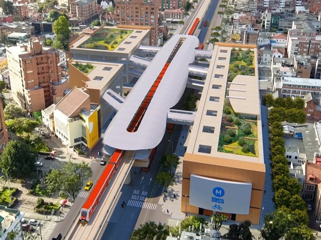 Metro de Bogotá has selected a concessionaire to build the initial phase of the city's first metro line.