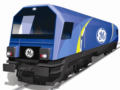 European version of GE Transportation PowerHaul locomotive