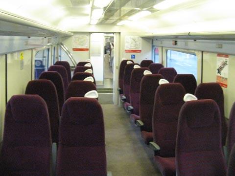 Interior of refurbished Class 442 EMU.