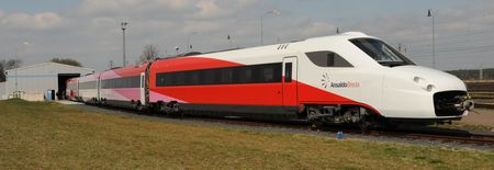 AnsaldoBreda V250 Albatros train