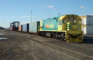 Toll Rail freight train